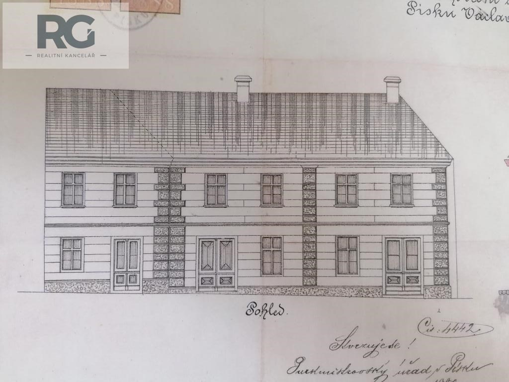 Prodej domu, Roháčova, Písek č.4